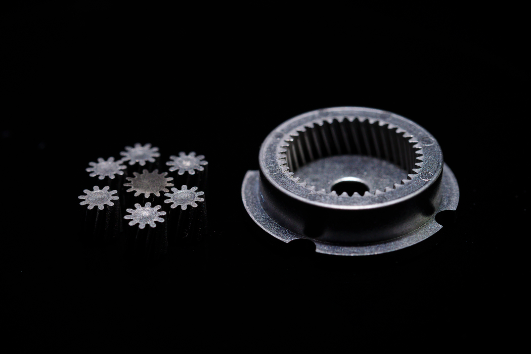 Micro internal helical gear