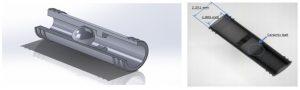 Micro check valve micro MIM